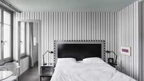 Hochwertige Bettwaren, Pillowtop-Betten, kostenlose Minibar