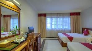 Matelas Tempur-Pedic, minibar, coffre-forts dans les chambres, bureau
