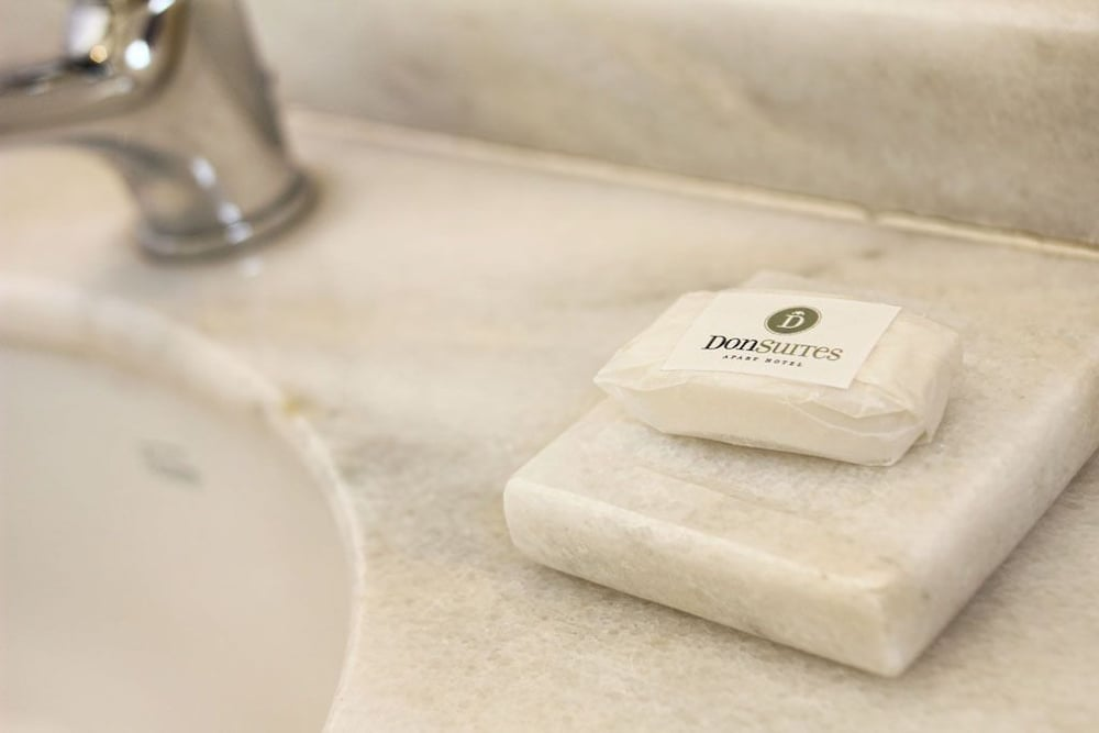 Bathroom Amenities, Donsuites Apart Hotel