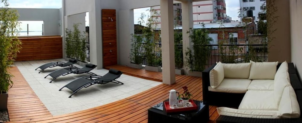 Terrace/Patio, Donsuites Apart Hotel