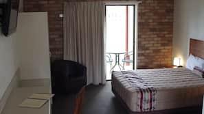 Pillow top beds, minibar, desk, laptop workspace