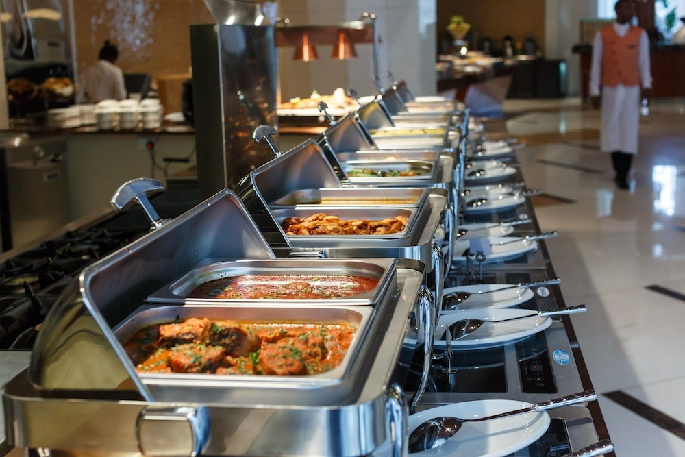 Buffet,  Lagos Continental Hotel