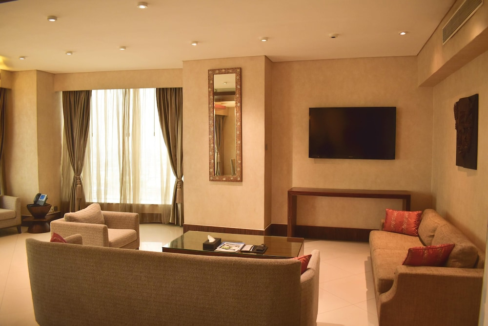 Living Area,  Lagos Continental Hotel