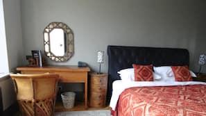 Hypo-allergenic bedding, memory-foam beds, minibar