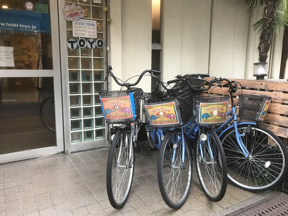 Bicycling, Hotel Toyo