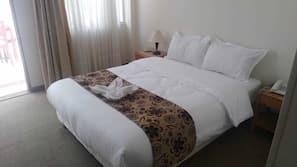Down comforters, blackout drapes, free WiFi