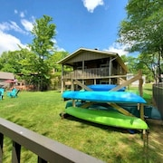 Lakefront Cabin, Pet Friendly, Fish or Kayak From Your own Dock!