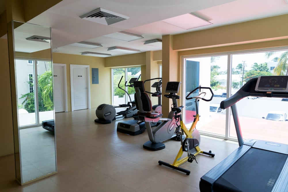 Fitness Facility, Ocean One 502 by Blue Sky Luxury