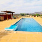 Villa With 5 Bedrooms in Alhama de Almería, With Wonderful Mountain View, Private Pool, Terrace