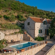 Mediterranean Stone House Situated in Peaceful Ethno-eco Village Dol