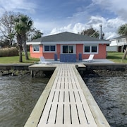 Bogue Sound House With Dock