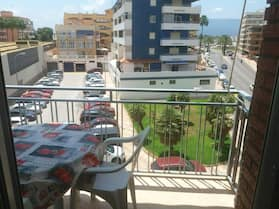 Apartment With 2 Bedrooms in Cullera, With Furnished Balcony - 500 m From the Beach