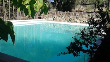 Villa With 2 Bedrooms in Castilblanco de los Arroyos, With Wonderful Mountain View, Private Pool and Enclosed Garden