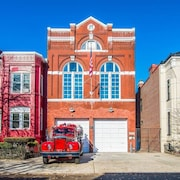 Historic DC Firehouse Penthouse Loft