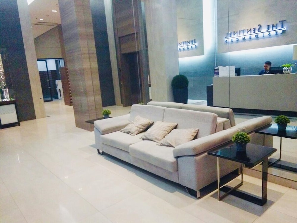 Lobby Sitting Area, The Sentinel Residences
