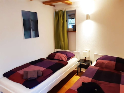 Bw14 Friendly 2 Room Apartment in Kirchheim-naben With Terrace and Private Parking