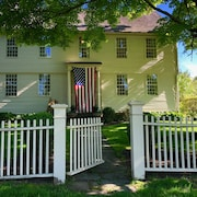 Bring the Family, Work From Home in This Historic 5 Bdrm House in Litchfield