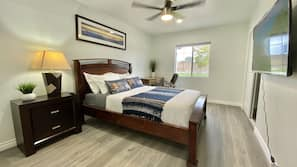 7 多间卧室、熨斗/熨衣板、上网接入、床单