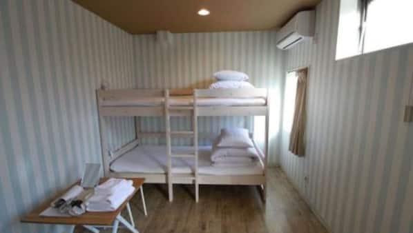 3 間臥室、上網、床單