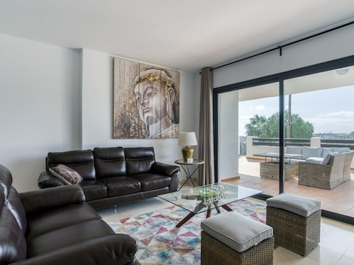 Suave Apartment in Casares Costa With Swimming Pool