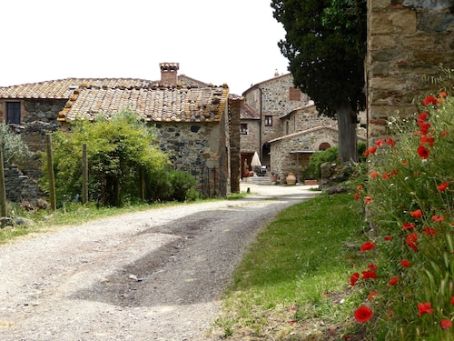 Old Holiday Home in Castelnuovo di Val di Cecina With Garden