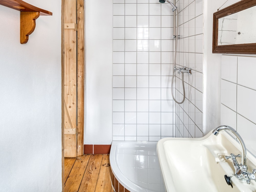 Bathroom, Archaic Holiday Home in Wolfsberg With Garden