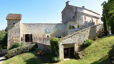 Chateau From the 12th Century With Modern Comfort in a Sublime Setting
