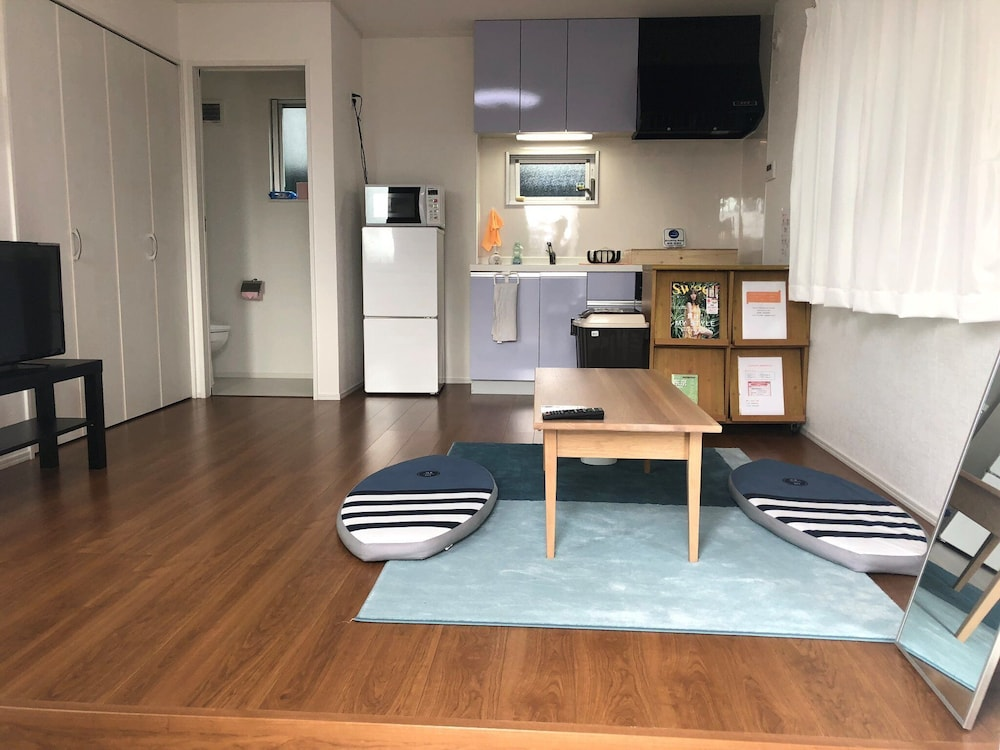 Living Room, Newly Built Maisonette Detached House B Directly / Chiba Chiba