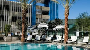 2 outdoor pools, open 9:00 AM to 10:00 PM, cabanas (surcharge)