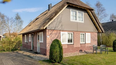 Thatched Villa With 2 Bathrooms, 2 km. From Appelscha