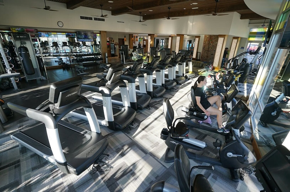 Fitness Facility, Christmas Welk San Diego California 2 bedroom Lock Off