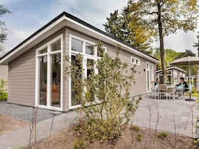 Modern Chalet With a Dishwasher, Located in Park De Veluwe