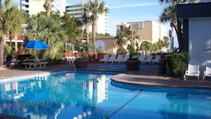 2 indoor pools, 9 outdoor pools, open 8:00 AM to 11:00 PM, sun loungers