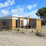 Modern Chalet With Dishwasher, at 1.5 km. From the Beach