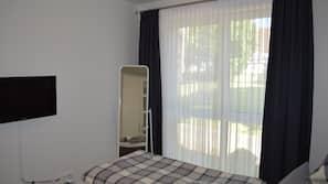 2 Schlafzimmer, WLAN, Bettwäsche, Barrierefreiheit