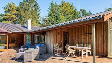 Attractive Holiday Home in Ebeltoft With Barbecue