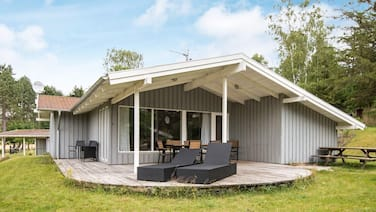 Garden-view Holiday Home in Jutland With Sauna