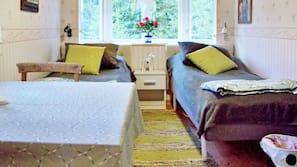 1 sovrum och unika möbler