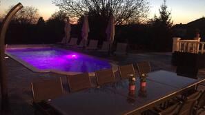 室外泳池、暖水池