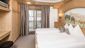 1 bedroom, in-room safe, WiFi, linens