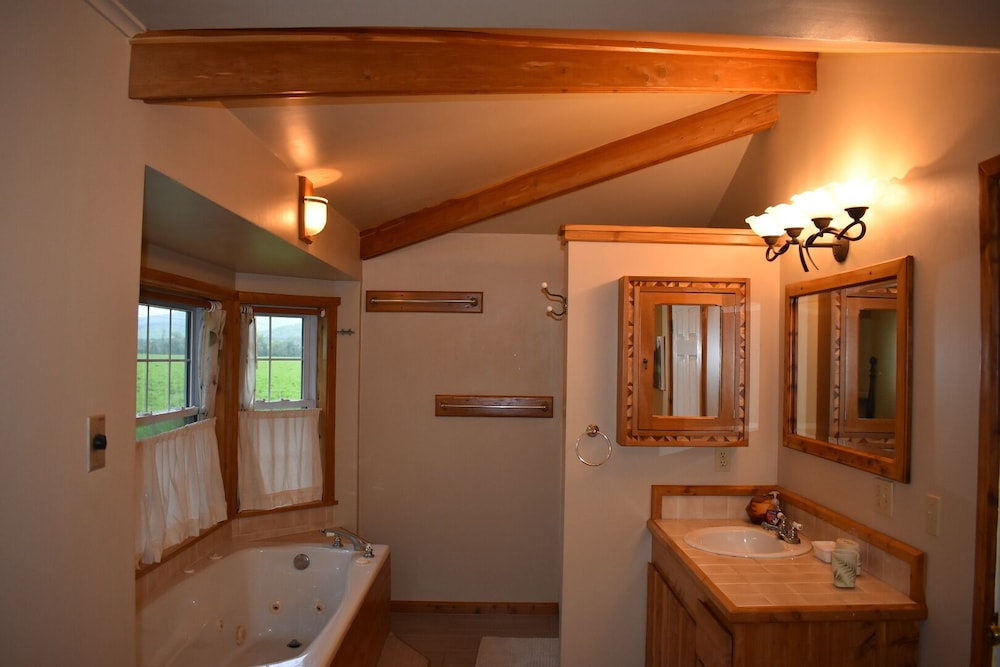 Bathroom, The Cass House on the Mulberry River / Near OHV Trails