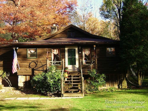 Cute Cottage in Beautiful Forest Artistic Style & Charm A Ligonier Original