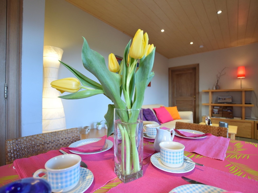 Private Kitchen, Peaceful Cottage in Ardennes With Private Terrace