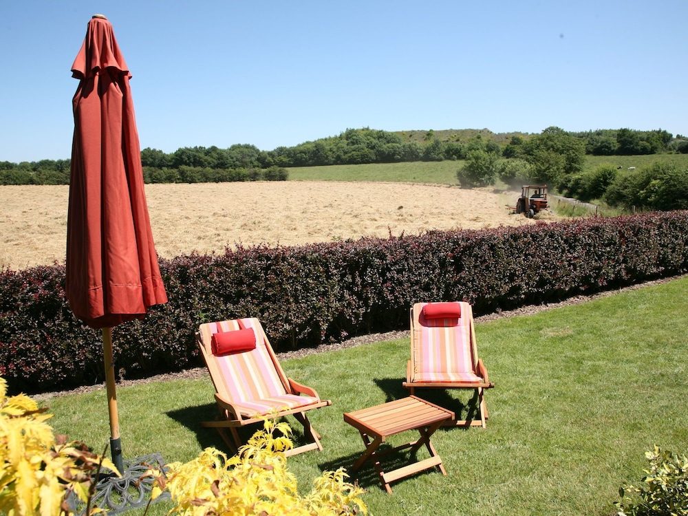 Garden, Peaceful Cottage in Ardennes With Private Terrace