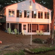Franklin Cottage on Ossipee Lake NH