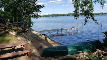 Clitherall Lake 300' of private shore on 2 acres
