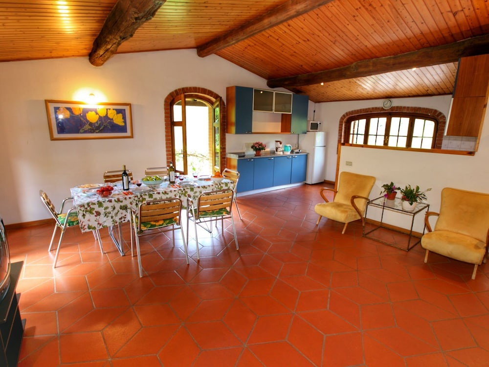 Living Room, Holiday Home With Shared Swimming Pool in the Green Hills of Chianti
