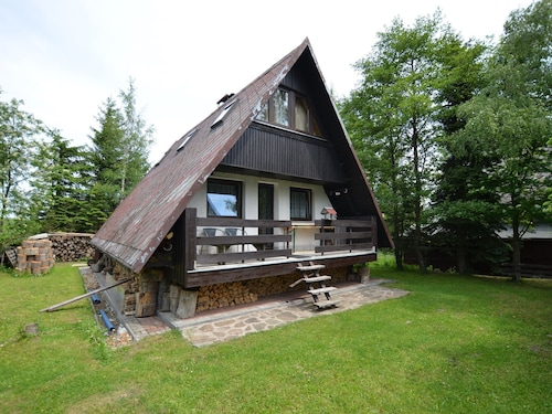 Nice Holiday Home With Fireplace in the Ore Mountains Only 500m From the Chairlift
