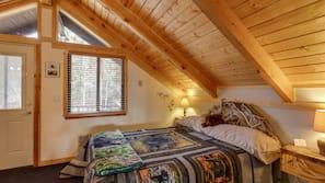 4 bedrooms, laptop workspace, iron/ironing board, free WiFi