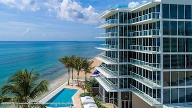 Available for November - Oceanfront Boutique Condominium - Palm Beach -NEW!